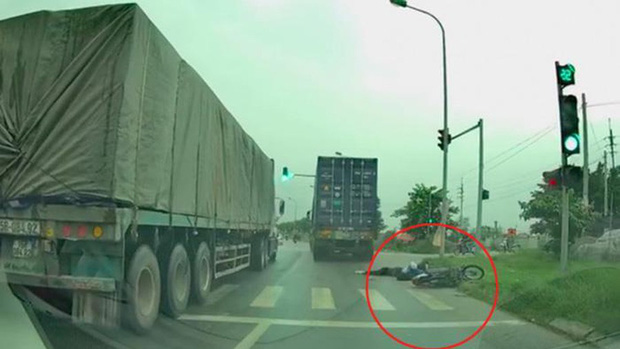 Tìm thấy tài xế container chạy ẩu tông nữ sinh viên trường Luật tử vong rồi bỏ trốn ở Hải Phòng - Ảnh 1.