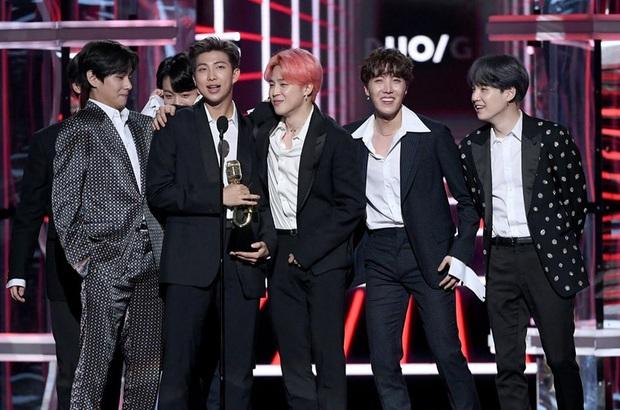 BTS là nghệ sĩ Kpop duy nhất diễn ở 4 lễ trao giải âm nhạc lớn nhất nước Mỹ, Knet khen hết lời nhưng cũng chẳng ngạc nhiên - Ảnh 6.
