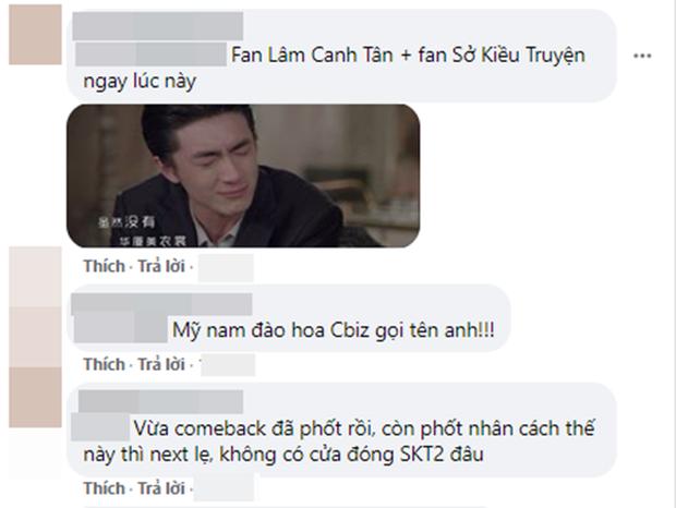 Vừa comeback Lâm Canh Tân đã dính phốt bắt cá hai tay, netizen gay gắt: Không có cửa đóng Sở Kiều Truyện 2 nha! - Ảnh 7.