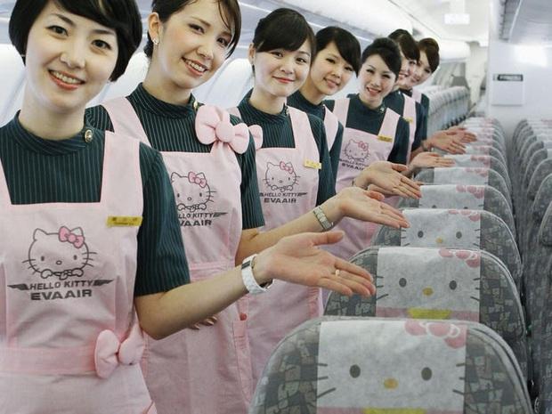 Máy bay chủ đề Hello Kitty chính thức cất cánh trong Ngày của Cha, có điều hành khách sẽ… không đi đến đâu cả - Ảnh 4.