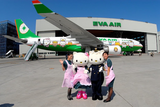 Máy bay chủ đề Hello Kitty chính thức cất cánh trong Ngày của Cha, có điều hành khách sẽ… không đi đến đâu cả - Ảnh 1.