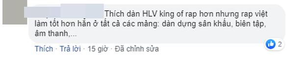 Dân mạng bàn phím chiến kịch liệt: Rap Việt nhận cơn mưa lời khen, người mê King Of Rap chê đối thủ không chất? - Ảnh 11.