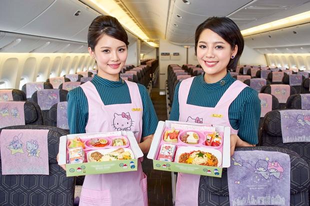 Máy bay chủ đề Hello Kitty chính thức cất cánh trong Ngày của Cha, có điều hành khách sẽ… không đi đến đâu cả - Ảnh 3.
