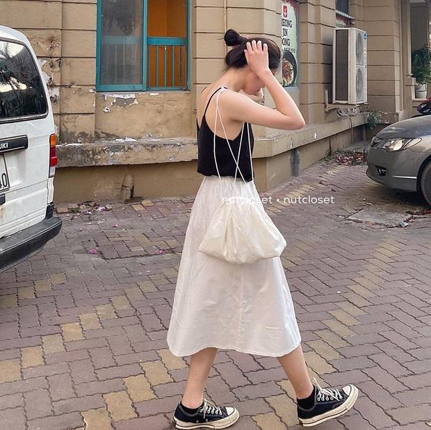 5 công thức bạn nên ghim ngay nếu mê chân váy, đảm bảo cứ diện lên là được khen xịn đẹp  - Ảnh 12.