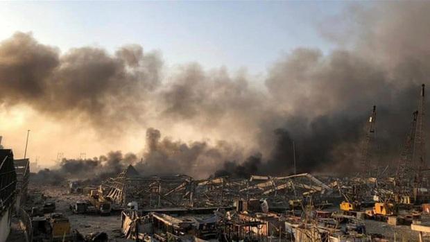 Xác định nguyên nhân gây ra vụ nổ kinh hoàng tại cảng Beirut (Lebanon) - Ảnh 1.