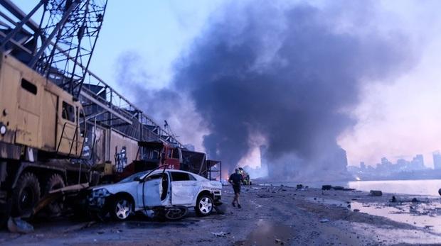 """Nhân chứng vụ nổ kinh hoàng ở Beirut: """"Chúng tôi không còn lại gì - Ảnh 1."""