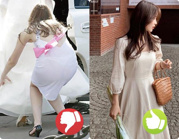 Cứ nghĩ áo váy màu trắng là thanh lịch nhất rồi, nào ngờ cũng đầy rẫy thảm họa nhé các nàng ơi! - Ảnh 2.