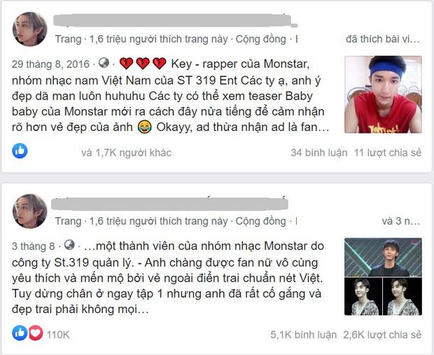 Hậu Rap Việt, Key (MONSTAR) cực hot trên page mỹ nam, fan nữ gào thét: Em muốn theo anh về nhà - Ảnh 2.
