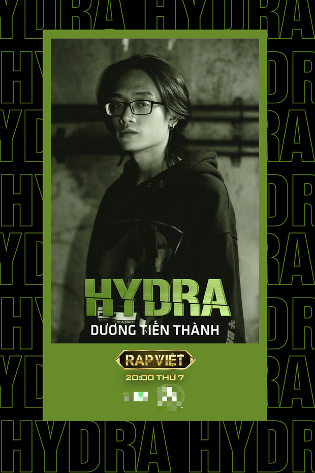 Hydra - anh chàng khiến Trấn Thành và HLV Rap Việt khóc tiết lộ: Đã nhắm team Karik ngay từ đầu, khẳng định thí sinh trong chương trình cực mạnh - Ảnh 2.