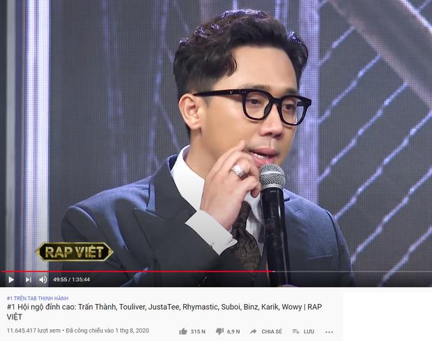 Trấn Thành xứng danh Ông trùm gameshow: 2 tuần liền có tận 6 video thống trị top trending YouTube - Ảnh 3.