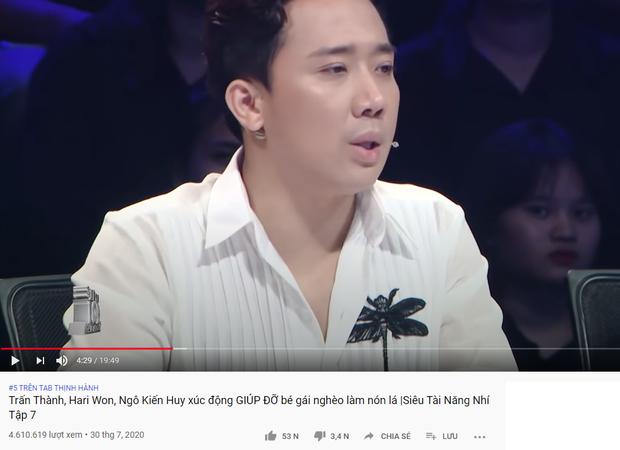 Trấn Thành xứng danh Ông trùm gameshow: 2 tuần liền có tận 6 video thống trị top trending YouTube - Ảnh 5.