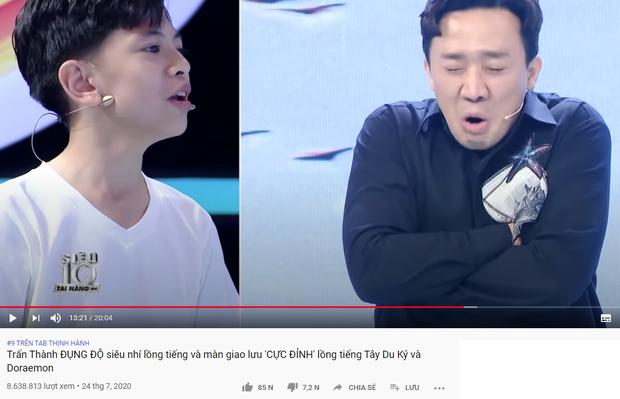 Trấn Thành xứng danh Ông trùm gameshow: 2 tuần liền có tận 6 video thống trị top trending YouTube - Ảnh 7.