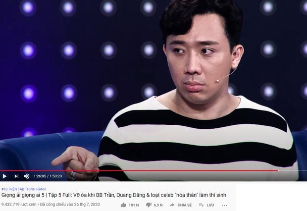 Trấn Thành xứng danh Ông trùm gameshow: 2 tuần liền có tận 6 video thống trị top trending YouTube - Ảnh 8.