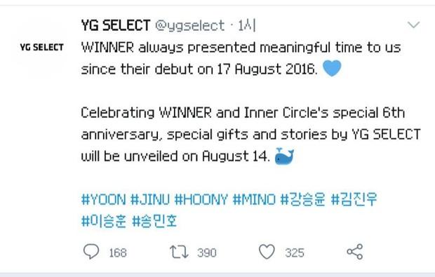 YG lại ghi sai ngày debut biến WINNER thành hậu bối của BLACKPINK, fan tức giận: Tìm mù mắt cũng không ra điểm tốt đẹp gì của công ty - Ảnh 4.
