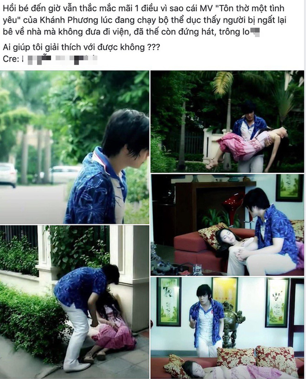 Dân mạng lo lắng tột độ cho nữ chính trong MV của Khánh Phương: Bị ngất bất tỉnh giữa đường nhưng nam chính lại bế về nhà và... đứng hát - Ảnh 6.