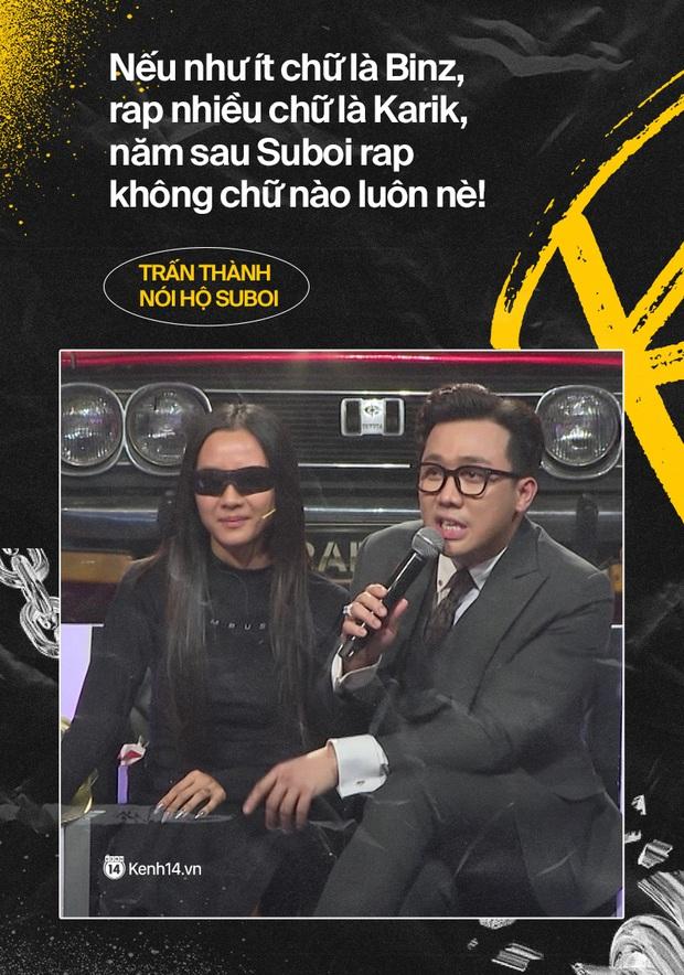 Đổ rạp trước những màn cà khịa đáng yêu của dàn sao Rap Việt! - Ảnh 8.