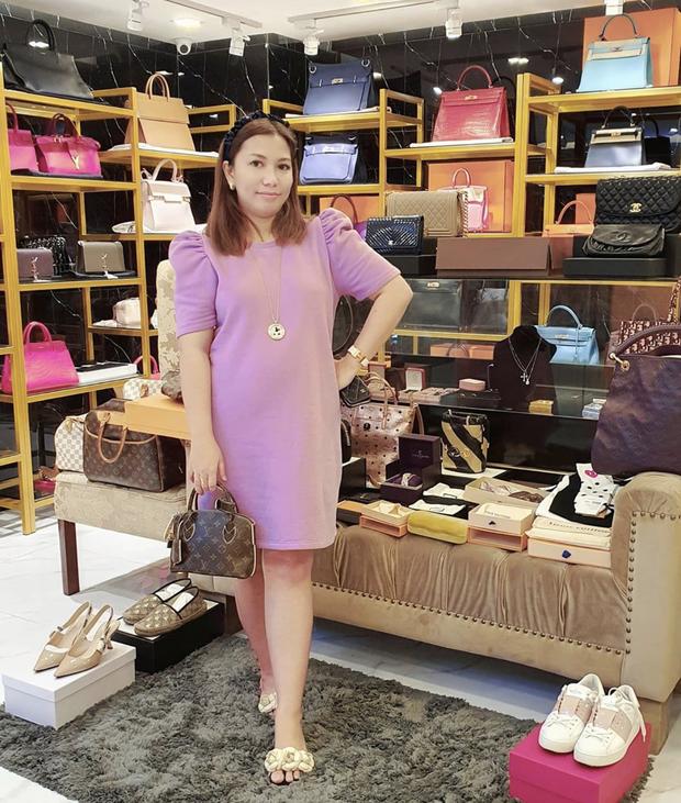 Màn diện đồ bộ xách túi Hermes, Dior của hội bạn thân Philippines giàu sụ được dân mạng tích cực share lại - Ảnh 7.