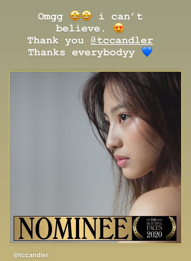Hot girl Dương Minh Ngọc được đề cử top 100 gương mặt đẹp nhất thế giới - Ảnh 2.