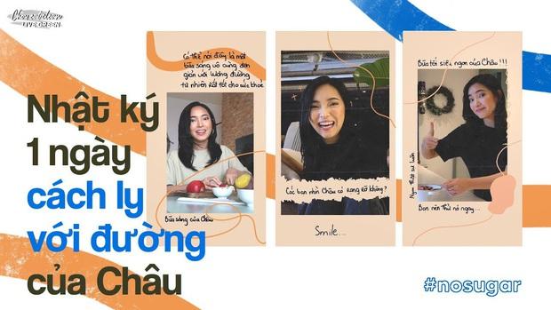 """Học Châu Bùi tham gia thử thách """"1 ngày không đường"""" vẫn đủ dưỡng chất cho cơ thể để sở hữu da khỏe, dáng xinh - Ảnh 1."""