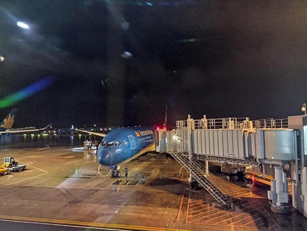 Vietnam Airlines lần đầu khai thác chuyến bay đến Texas (Hoa Kỳ) đưa công dân về nước - Ảnh 1.