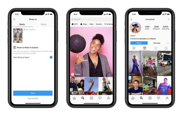 Instagram chính thức update tính năng mới, copy y hệt giao diện TikTok, chuẩn bị cập nhật toàn cầu - Ảnh 1.