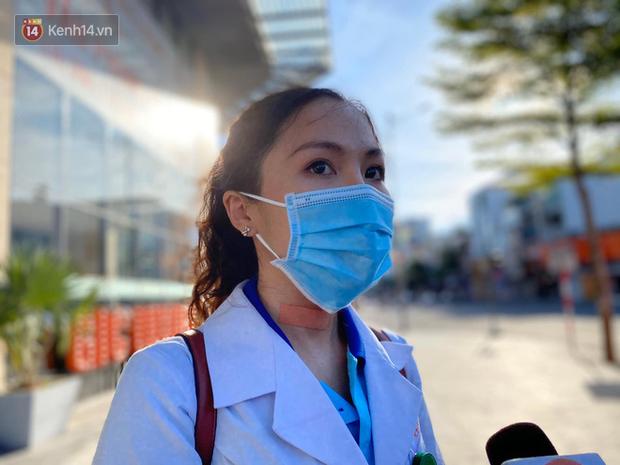 Nữ bác sĩ trẻ xinh đẹp ở Bình Định xung phong vào tâm dịch chi viện cho Đà Nẵng: Khi nào hết dịch con mới về! - Ảnh 5.