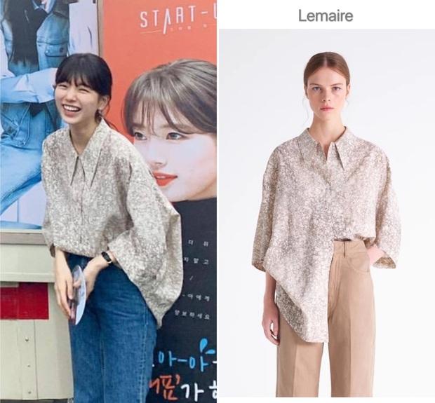 Cùng 1 chiếc áo oversize, Suzy bày cho các nàng 2 chiêu ăn diện xinh xẻo, ai cũng áp dụng được - Ảnh 1.