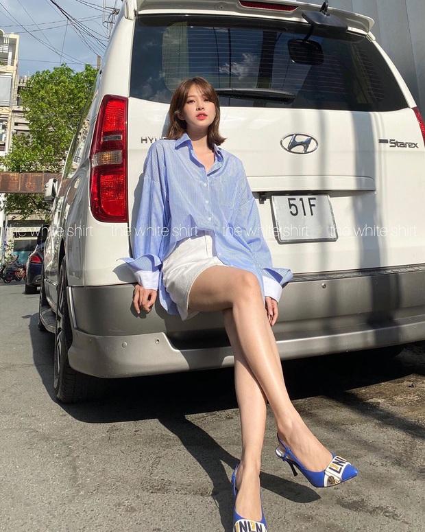 Cùng 1 chiếc áo oversize, Suzy bày cho các nàng 2 chiêu ăn diện xinh xẻo, ai cũng áp dụng được - Ảnh 12.