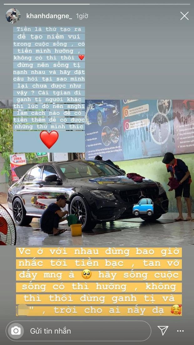 Vừa tậu xe tiền tỷ, chồng Thanh Trần đột ngột chia sẻ về quan điểm tiền bạc trong cuộc sống hôn nhân - Ảnh 1.