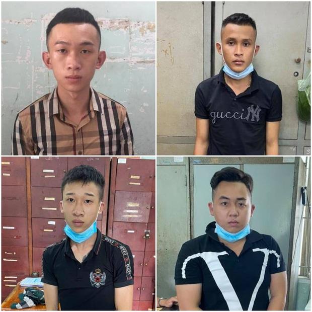 Bắt nhóm cướp khiến người phụ nữ chấn thương sọ não ở Sài Gòn - Ảnh 1.