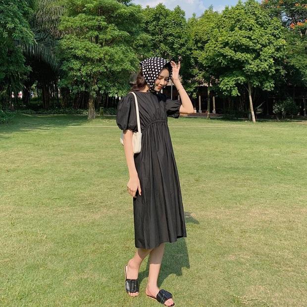 Váy đen không chỉ sang mà còn che nhược điểm body tài tình, nàng nào muốn lên đời style thì nên sắm ngay - Ảnh 15.