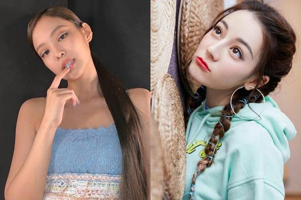 Những pha đọ visual nảy lửa giữa Jennie - Địch Lệ Nhiệt Ba: Đụng từ trang phục cho đến kiểu tóc, khó phân định ai đẹp hơn - Ảnh 4.