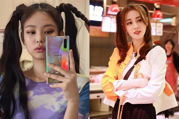 Những pha đọ visual nảy lửa giữa Jennie - Địch Lệ Nhiệt Ba: Đụng từ trang phục cho đến kiểu tóc, khó phân định ai đẹp hơn - Ảnh 5.