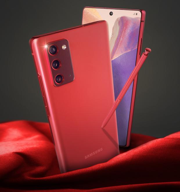 Không chỉ màu đồng ánh kim quyến rũ, Samsung sẽ còn ra mắt Galaxy Note20 màu đỏ, xanh dương và hồng? - Ảnh 3.