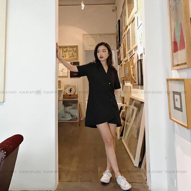 Váy đen không chỉ sang mà còn che nhược điểm body tài tình, nàng nào muốn lên đời style thì nên sắm ngay - Ảnh 9.
