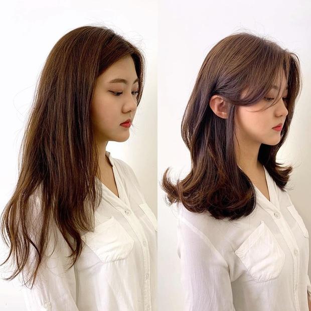 11 màn lột xác tóc tai chứng minh con gái cứ triển combo cắt uốn nhuộm hợp lý là visual lên hương ngùn ngụt - Ảnh 7.