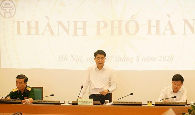 Chủ tịch Hà Nội: Từ hôm nay (7/8), sẽ xử phạt các trường hợp không đeo khẩu trang - Ảnh 1.