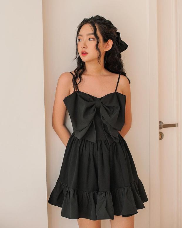 Váy đen không chỉ sang mà còn che nhược điểm body tài tình, nàng nào muốn lên đời style thì nên sắm ngay - Ảnh 19.