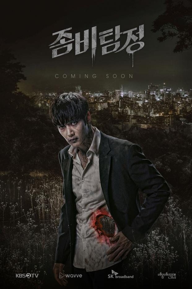Gây choáng hơn cả Peninsula là khi zombie hóa cảnh sát ở phim mới của vua báo thù Choi Jin Hyuk - Ảnh 2.