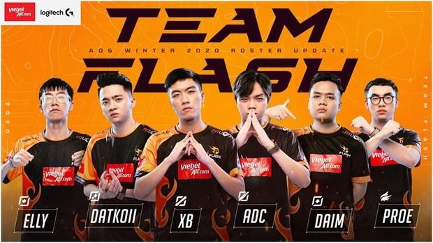 Chính thức: Daim gia nhập Team Flash, đội hình toàn sao của nhà đương kim vô địch thách thức cả ĐTDV - Ảnh 1.