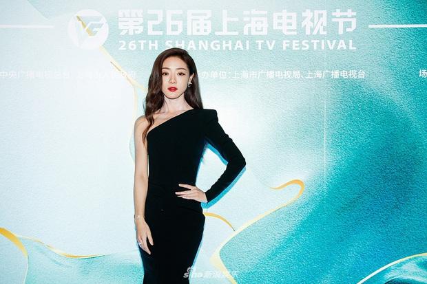 Thảm đỏ Bạch Ngọc Lan: Lưu Đào chặt chém bên Hoa hậu Hoàn vũ, Tôn Lệ đọ sắc bên dàn chị đẹp quyền lực Cbiz - Ảnh 16.