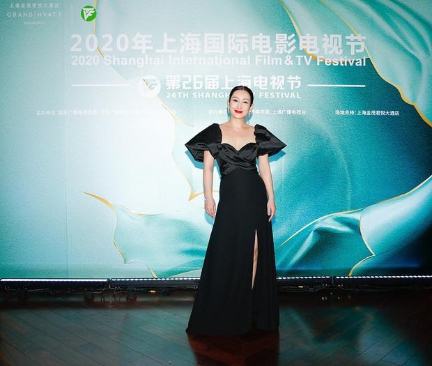 Thảm đỏ Bạch Ngọc Lan: Lưu Đào chặt chém bên Hoa hậu Hoàn vũ, Tôn Lệ đọ sắc bên dàn chị đẹp quyền lực Cbiz - Ảnh 7.