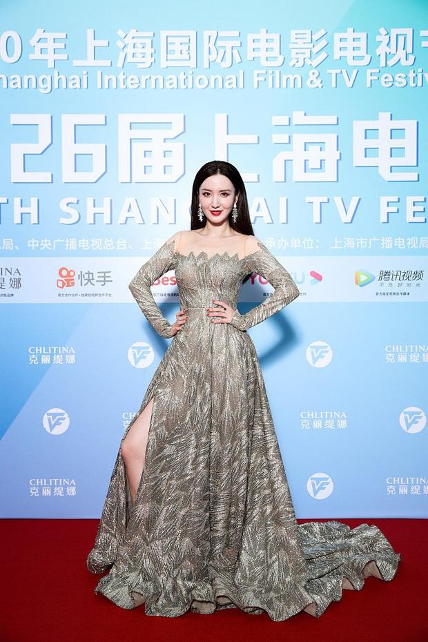 Thảm đỏ Bạch Ngọc Lan: Lưu Đào chặt chém bên Hoa hậu Hoàn vũ, Tôn Lệ đọ sắc bên dàn chị đẹp quyền lực Cbiz - Ảnh 9.