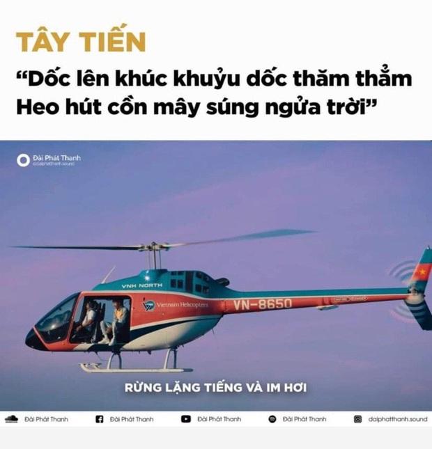 Bức ảnh viral nhất MXH hôm nay: Chỉ là Đen Vâu ngồi trên trực thăng thôi mà mổ xẻ ra được 1500 thuyết âm mưu! - Ảnh 5.
