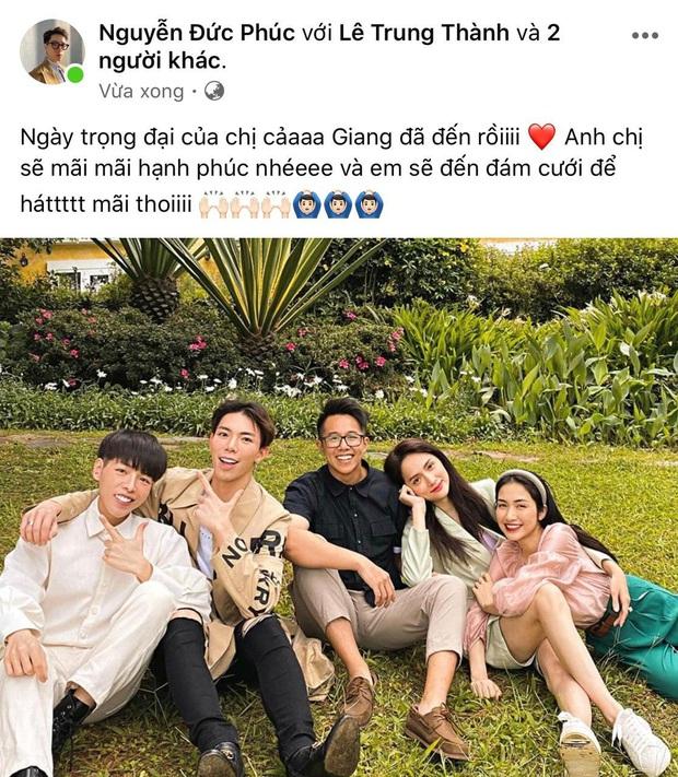 Hương Giang - Matt Liu vừa nên đôi, Đức Phúc công bố lời hứa về đám cưới và đăng bằng chứng cả hai hẹn hò ở Đà Lạt - Ảnh 2.