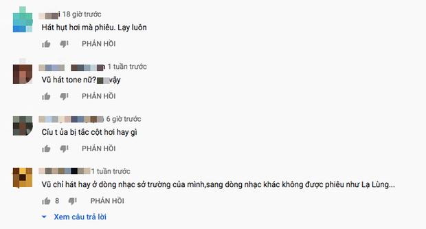 Song ca cùng Kimmese hit huyền thoại Hương Ngọc Lan, Thái Vũ bị dân mạng chỉ trích: Hát như thở oxy, Diva Mỹ Linh cũng chào thua - Ảnh 6.