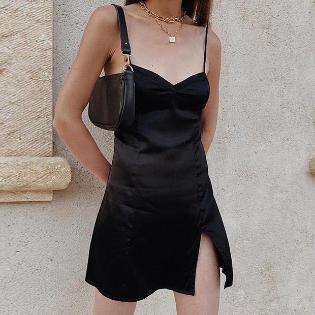 Váy đen không chỉ sang mà còn che nhược điểm body tài tình, nàng nào muốn lên đời style thì nên sắm ngay - Ảnh 3.