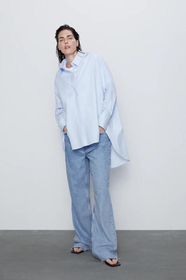 Cùng 1 chiếc áo oversize, Suzy bày cho các nàng 2 chiêu ăn diện xinh xẻo, ai cũng áp dụng được - Ảnh 6.