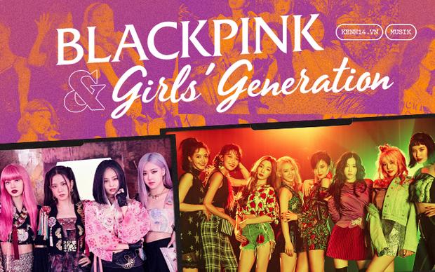 Sự chuyển giao thời đại từ Girls Generation đến BLACKPINK: 2 cái tên cân bằng sức nặng cho phái nữ tại đấu trường Kpop - Ảnh 1.