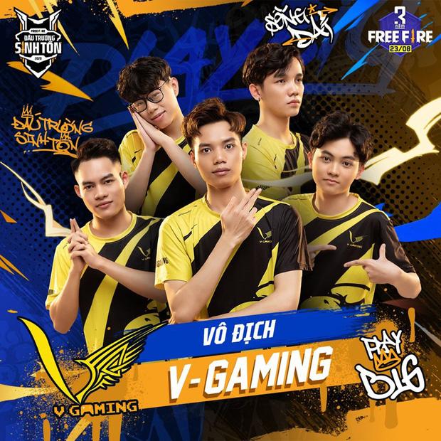 Chung kết Đấu Trường Sinh Tồn mùa Hè: V Gaming xuất sắc bảo vệ ngôi vô địch, rinh 500 triệu tiền thưởng - Ảnh 1.
